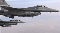 Rơi máy bay tiêm kích F-16 tại Jordan, thiếu tá phi công tử nạn