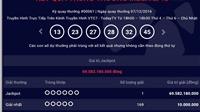Lại có người trúng giải Jackpot 69,5 tỷ đồng của xổ số Vietlott