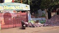 Hà Nội: Tường trường mầm non Sao Mai đổ sập, 1 người thiệt mạng