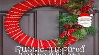 Làm vòng nguyệt trang trí Giáng sinh trong tích tắc