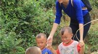 Diệu Ngọc xây trường cho trẻ vùng cao để thi Hoa hậu Nhân ái