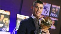 Cristiano Ronaldo đoạt Quả bóng vàng 2016: Tột đỉnh vinh quang cho người giỏi nhất!