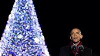 Tổng thống Obama viết gì trên Thiệp Noel cuối cùng từ Nhà Trắng?