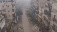 VIDEO: Cảnh tàn phá, hoang vắng ở Aleppo nhìn từ máy bay không người lái