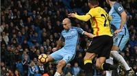 Man City 2-0 Watford: Zabaleta và David Silva giúp Man City tạm chấm dứt khủng hoảng