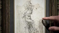 NGOẠN MỤC: Tìm thấy bức phác thảo đầy nhục dục của Leonardo Da Vinci ở Pháp