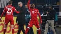 Darmstadt 0-1 Bayern: Douglas Costa sút xa không tưởng, 'Hùm xám' trở lại ngôi đầu