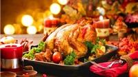 Gà tây nướng cho Giáng sinh thêm ấm áp