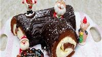 Giáng sinh ấm áp với bánh khúc cây