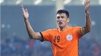 Merlo nghỉ hết lượt đi V-League 2017, SHB Đà Nẵng gặp 'hạn'