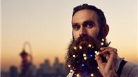 Ngắm 'cây râu Noel' siêu 'độc' của người Anh dịp Giáng sinh