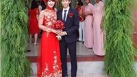 'Huyền thoại' Nguyễn Tiến Minh lên xe hoa với 'hotgirl' cầu lông Vũ Thị Trang