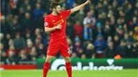 Vắng Coutinho, Lallana đóng vai 'gánh team' ở Liverpool