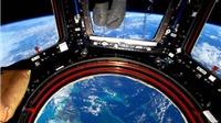 Phi hành gia trạm nghiên cứu ISS 'đứng hình' ngoài vũ trụ