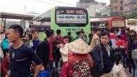 Dòng người tấp nập trở lại Hà Nội, bến xe phía Nam 'tăng nhiệt' từng giờ