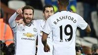 Mourinho: 'Man United là nhà vô địch của những quyết định sai lầm từ trọng tài'