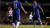 Costa và Pedro cãi nhau to ngay trên sân