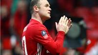 Sự thực vụ Rooney bị cầu thủ Reading từ chối đổi áo trên sân