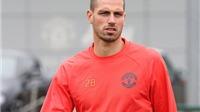 Schneiderlin có bữa tiệc chia tay với các đồng đội tại Man United