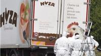 19 người tị nạn bị bỏ trong xe hàng dưới cái lạnh -20 độ