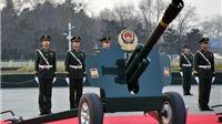 Trung Quốc bắn đại bác chào mừng chuyến thăm của Tổng Bí Thư Nguyễn Phú Trọng