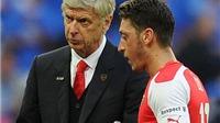 Wenger vẫn bình thản trước tương lai của Oezil
