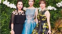 Hoa hậu Đỗ Mỹ Linh 'đọ sắc' với các đàn chị