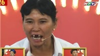 Thách thức danh hài: Trấn Thành tặng 'triệu like' cho góa phụ rụng răng