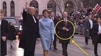 Video hé lộ sự thật vụ 'mật vụ Mỹ dùng tay giả hộ tống ông Trump'