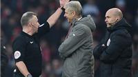 Vì sao ông Wenger bị cấm chỉ đạo tới 4 trận?