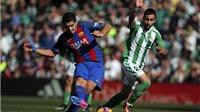 Real Betis 1-1 Barcelona: Barca thoát hiểm ở Villamarin, đứt mạch toàn thắng