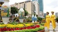Đường hoa Nguyễn Huệ mở cửa thêm 1 ngày để người dân chơi Tết