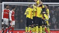 Arsenal 1-2 Watford: 'Pháo thủ' nhận trái đắng ngay trên sân nhà