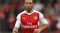 Arsenal đang khốn khổ vì vắng Cazorla