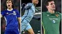 Đội hình tiêu biểu vòng 23 Premier League: Vinh danh lính mới Man City và hung thần của Man United