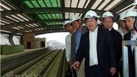 Tuyến đường sắt Cát Linh - Hà Đông sẽ chạy thử vào tháng 10