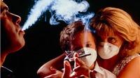 Đồ vật trong nhà ám khói thuốc lá ảnh hưởng tới sức khỏe trẻ sơ sinh