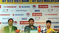 HLV Hữu Thắng muốn thắng U23 Malaysia lấy hên