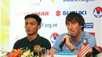 U23 Malaysia không áp lực khi đối đầu U23 Việt Nam