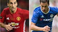Đội hình tiêu biểu vòng 24 Premier League: Ngày Hazard sánh vai cùng Mkhitaryan