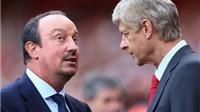 NÓNG: Benitez chuẩn bị thay thế Wenger ở Arsenal