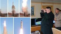 Triều Tiên công bố băng ghi hình vụ phóng tên lửa