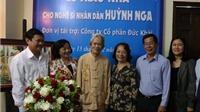 NSND Huỳnh Nga, đạo diễn 'Đời cô Lựu', được trao tặng nhà mới
