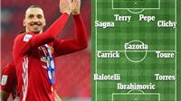 Đội hình miễn phí mùa hè này: Quá 'chất' với Casillas, Yaya Toure, và Ibrahimovic