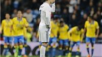 Real Madrid 3-3 Las Palmas: Ronaldo ngoạn mục chuộc lỗi cho Bale, Real vẫn mất ngôi đầu