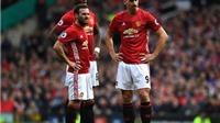 Man United 1-1 Bournemouth: Ibrahimovic đá hỏng 11m, Man United bị cầm hòa dù chơi hơn người