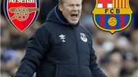 Arsenal và Barcelona tranh nhau HLV của Everton