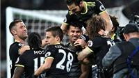 West Ham 1-2 Chelsea: Hazard và Costa giúp 'The Blues' tiến thêm một bước tới chức vô địch