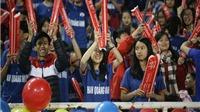 AFC Cup 2017: CĐV Than Quảng Ninh 'đội' mưa rét đi cổ vũ