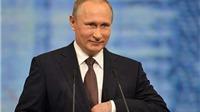 Tổng thống Nga Vladimir Putin đọc thơ chúc mừng ngày 8/3